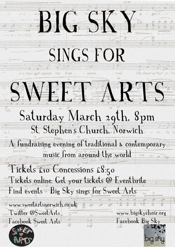 Big Sky sings for Sweet Arts