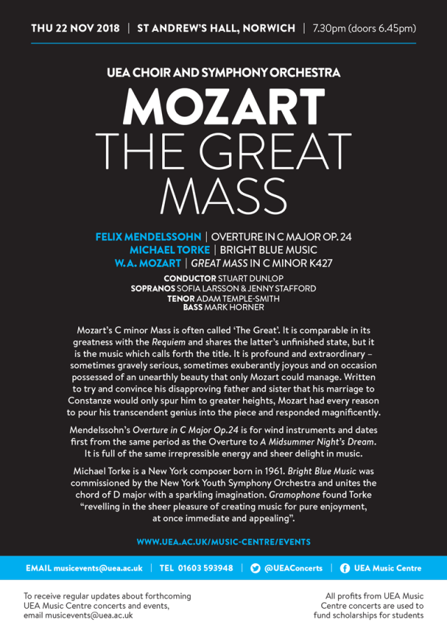 UEA-Choir-and-Symphony-Orchestra---Mozart-The-Great-Mass---22-Nov-18---A5-flyer-2