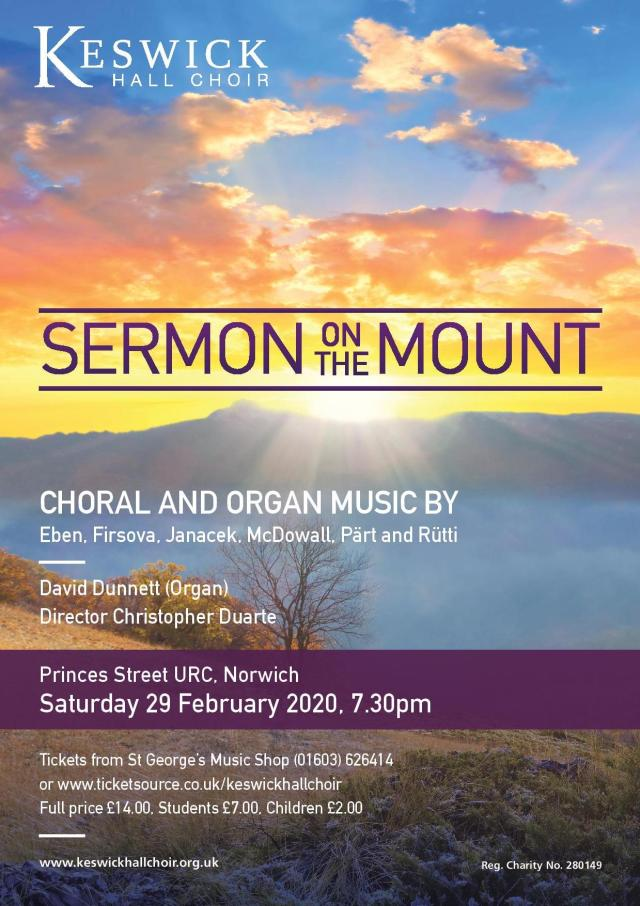 Sermon on the Mount - poster