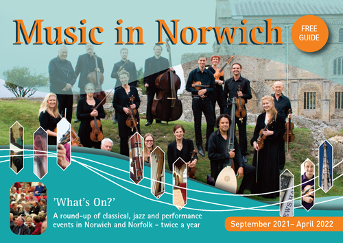Music in Norwich cover September 2021 edition